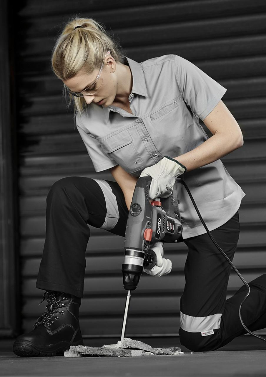 ZWL120 WOMENS LIGHTWEIGHT TRADIE S S SHIRT - Entire Workwear c76636c72