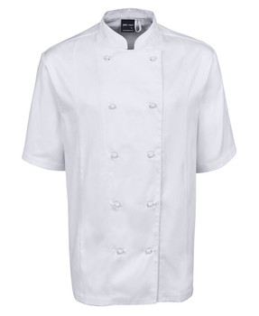 VENTED CHEF'S S/S JACKET 5CVS