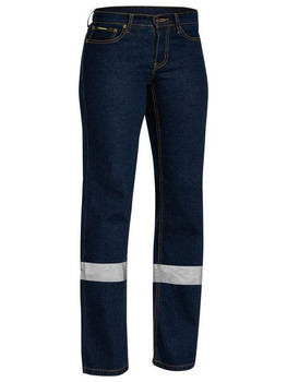 WOMENS TAPED STRETCH JEANS BPL6712T