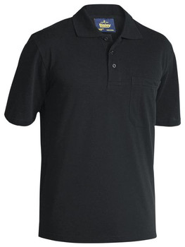 MENS POLY/COTTON POLO SHIRT BK1290