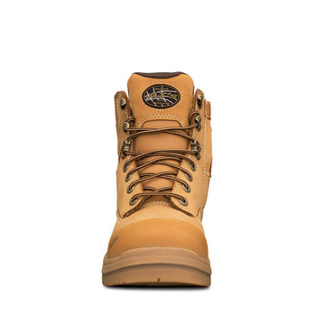 55-332Z 150MM WHEAT ZIP SIDED BOOT