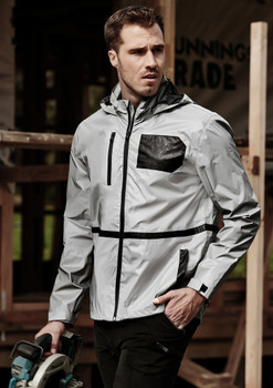 ZJ380  UNISEX STREETWORX REFLECTIVE WATERPROOF JACKET
