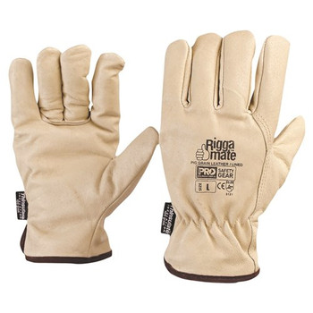 ProChoice® Riggamate® Lined Glove - Pig Grain Leather Large PGL41TL pk12