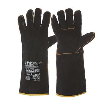 ProChoice® Pyromate® Black Jack® - Black & Gold Glove Large BGW16 6pk