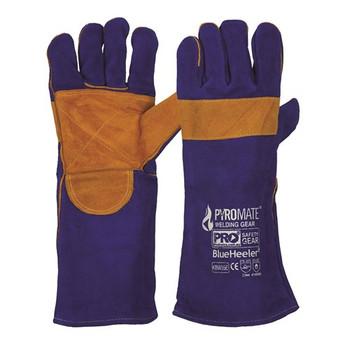 ProChoice® Pyromate® Blue Heeler® - Blue & Gold Kevlar® Large KBW16E
