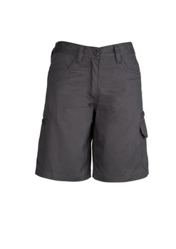 ZWL011  WOMENS PLAIN UTILITY SHORT