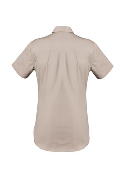 ZWL120  WOMENS LIGHTWEIGHT TRADIE S/S SHIRT