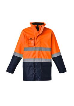Mens Hi Vis Basic 4 in 1 Waterproof Jacket ZJ220