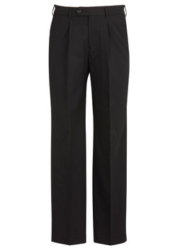 Mens One Pleat Pant Stout 74011S