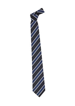 Mens Wide Contrast Stripe Tie 99103
