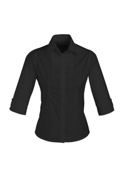 LADIES BERLIN 3/4 SLEEVE SHIRT S121LT
