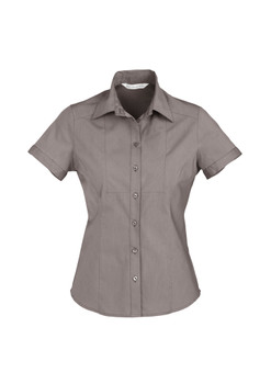 LADIES CHEVRON SHORT SLEEVE SHIRT S122LS