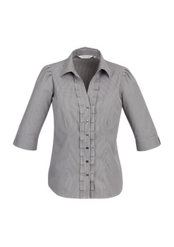 LADIES EDGE 3/4 SLEEVE SHIRT S267LT
