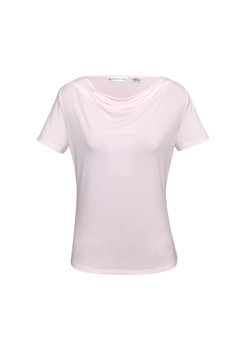 LADIES AVA DRAPE KNIT TOP K625LS