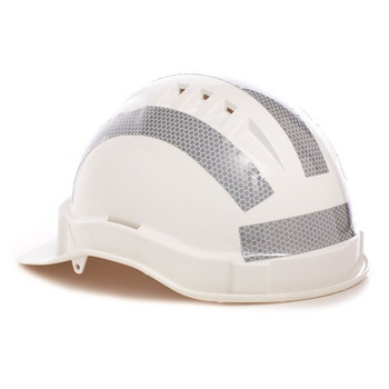 Pro Choice Safety Gear Hard Hat Reflective Tape Straight 10 strips HHRTS