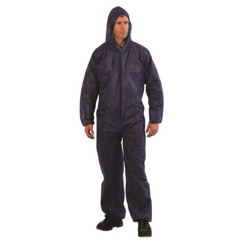 Disposable Coveralls Blue 5pk - DOB