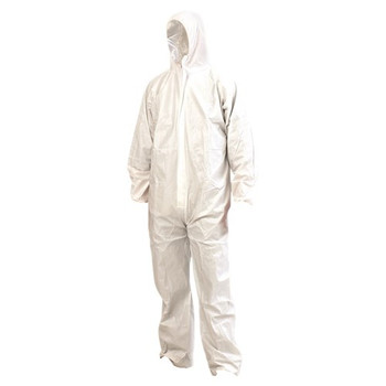 Pro Choice Safety Gear SMS Disposable Coveralls White 5pk DOWSMS