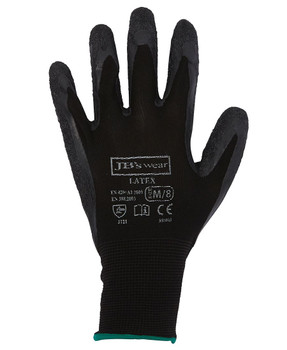 BLACK LATEX GLOVE (12 PACK) 8R003