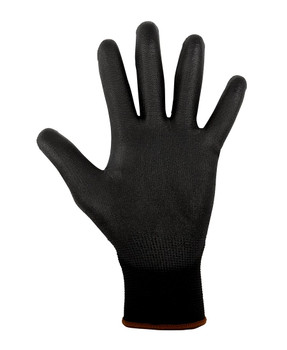 BLACK LIGHT PU BREATHABLE GLOVE (12 PACK) 8R004