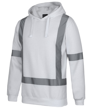 FLEECE HOODIE WITH REFLECTIVE TAPE 6BNH