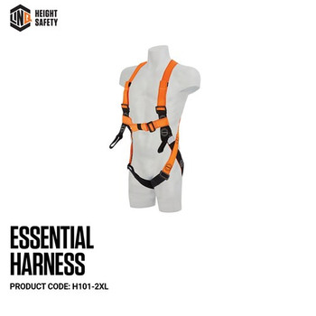 LINQ Essential Harness - Maxi (XL-2XL) H101-2XL