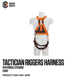 LINQ Tactician Riggers Harness With Dorsal Extension Strap H201-DRSE
