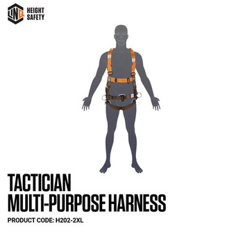 LINQ Tactician Multi-Purpose Harness - Maxi (XL-2XL) H202-2XL