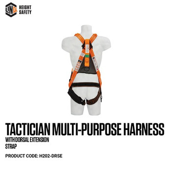 LINQ Tactician Multi-Purpose Harness With Dorsal Extension Strap H202-DRSE