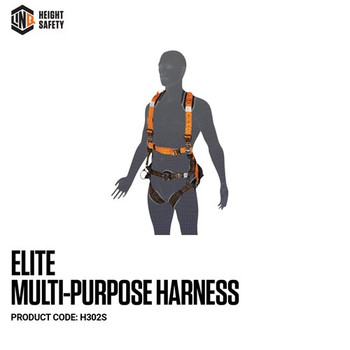 LINQ Elite Multi-Purpose Harness - Small (S) cw Harness Bag (NBHAR) H302S