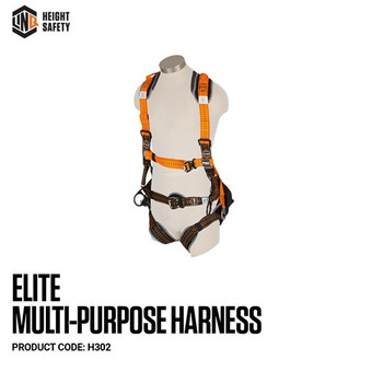 LINQ Elite Multi-Purpose Harness - Standard (M - L) cw Harness Bag (NBHAR) H302