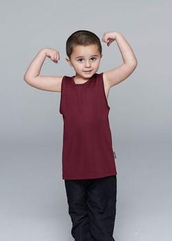 BOTANY KIDS SINGLETS - 3107