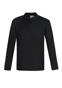 Crew Mens L/S Polo P400ML