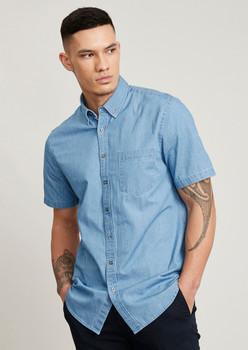 Indie Mens Short Sleeve Shirt S017MS