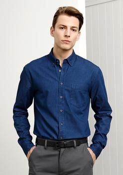 Indie Mens Long Sleeve Shirt S017ML