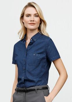 Indie Ladies Short Sleeve Shirt S017LS