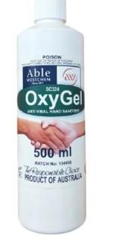 OxyGel -  Hand Sanitising Gel SC324-500