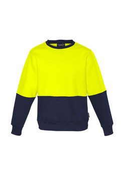 ZT475 Unisex Hi Vis Crew Sweatshirt