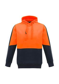 Unisex Hi Vis Pullover Hoodie