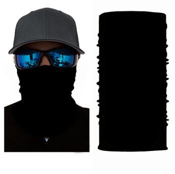 SIMBA BLACK BANDANAS FACE MASK SIM1
