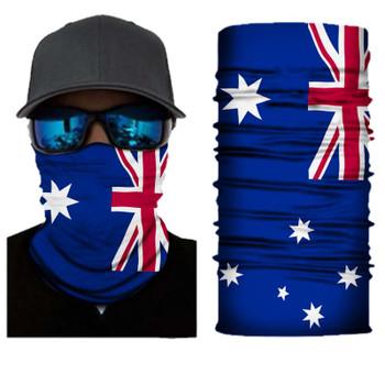 Simba Bandana face mask Neck Gaiter Australian Flag SIM10
