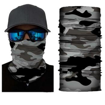 Simba Bandana face mask Neck Gaiter camo Grey S177