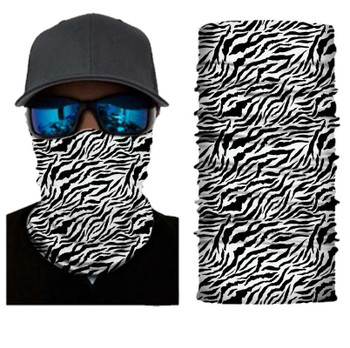 Simba Bandana face mask Black & White Zebra Pattern SIM32