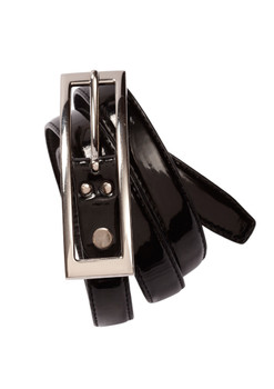 Ladies Semi-Patent Belt BB10920