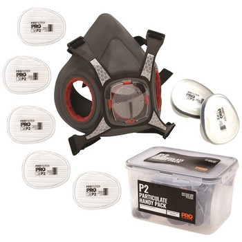 Maxi Mask 2000 Half Face Respirator Particulate Handy Pack HMP2-HP
