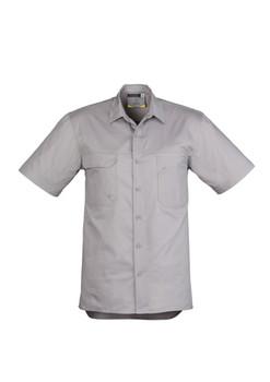 Mens Light Weight Tradie S/S Shirt ZW120