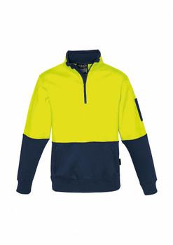 ZT476 Unisex Hi Vis Half Zip Pullover