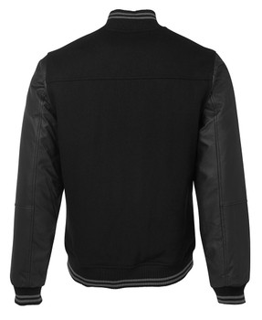 ART LEATHER BASEBALL JACKET 3BLJ