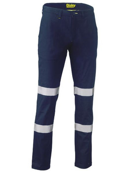 Taped Biomotion Stretch Cotton Drill Work Pants BP6008T