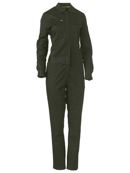 Womens Cotton Drill Coverall BCL6065