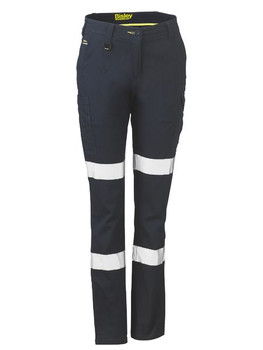 Womens Taped Cotton Cargo Pants BPL6115T